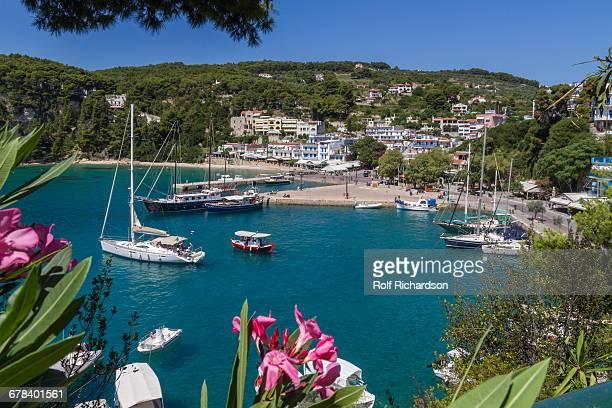 Harbour Patitiri, Alonnisos, Sporades, Greek Islands, Greece, Europe