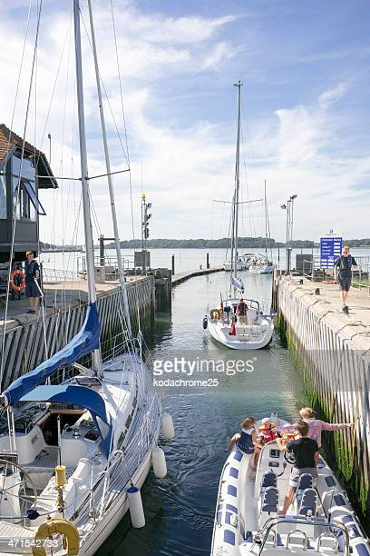 harbour - chichester stock pictures, royalty-free photos & images