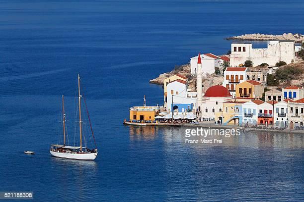 Harbour town of Kastelorizo Megisti