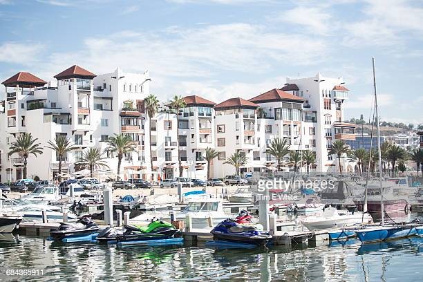 Harbour with boats, Agadir, Morocco