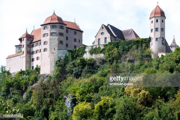 Harburg Castle in Bavaria, Germany