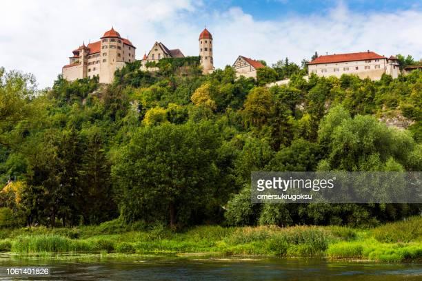 Harburg Fort and nature in Harburg, Bavaria, Germany