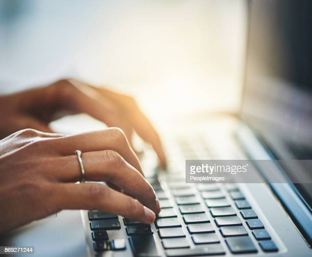 hard at work on reaching success - computer keyboard stock pictures, royalty-free photos & images