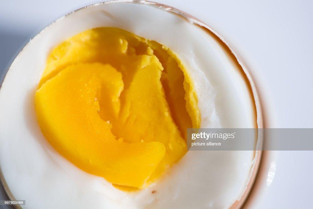 Hard boiled egg : News Photo