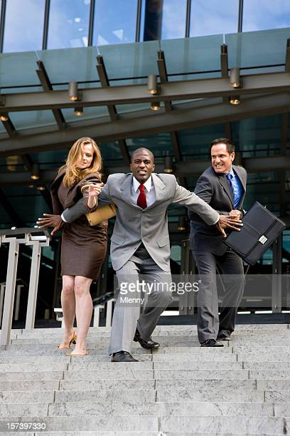 hard competition - gender inequality stock photos and pictures