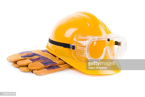 hard hat - work glove stock pictures, royalty-free photos & images