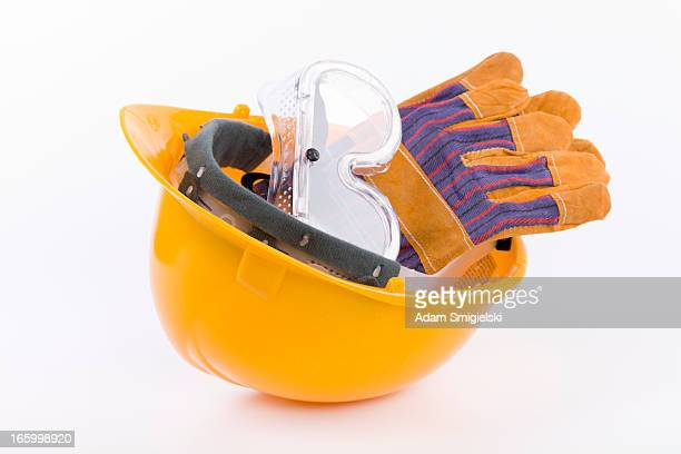 hard hat - protective eyewear stock photos and pictures