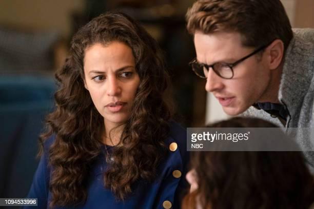 MANIFEST Hard Landing Episode 115 Pictured Athena Karkanis as Grace Stone Josh Dallas as Ben Stone