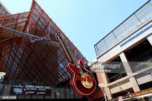 Hard Rock Cafe at Fourth Street Live on May 31 2014 in Louisville Kentucky