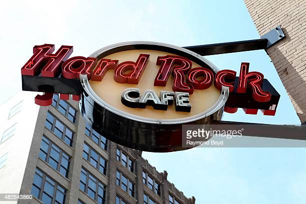 Hard Rock Cafe Indianapolis on July 16 2015 in Indianapolis Indiana