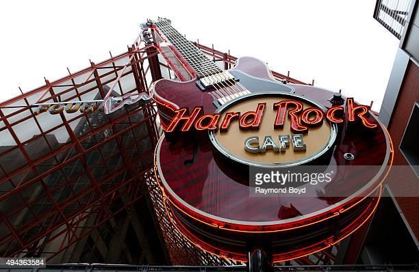 Hard Rock Cafe on October 3 2015 in Louisville Kentucky