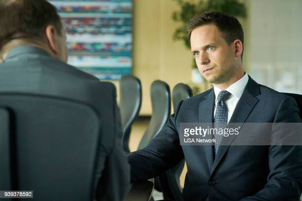 """Hard Truths"""" Episode 711 -- Pictured: Patrick J. Adams as Mike Ross --"""