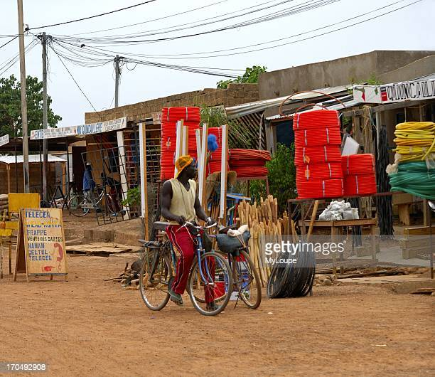 Hard ware store in the streets of Ouagadougou, Burkina Faso.