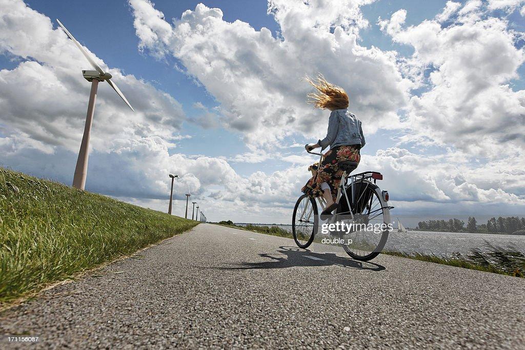 hard wind : Bildbanksbilder