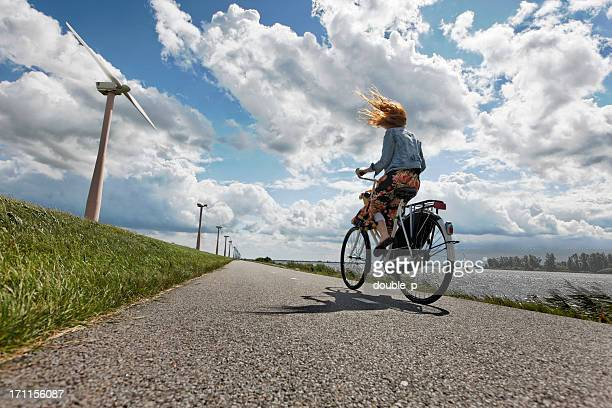 hard wind - netherlands stock pictures, royalty-free photos & images