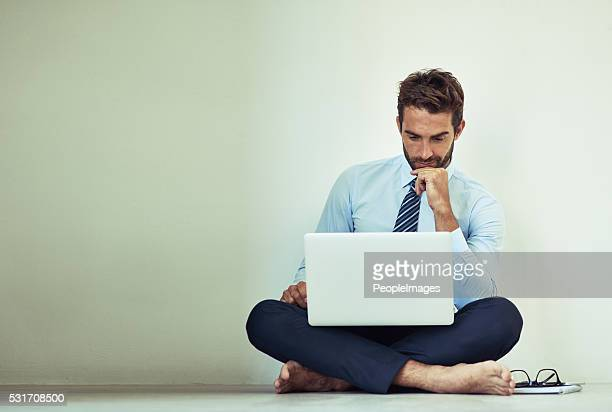 hard work pays off - barefoot men stock photos and pictures