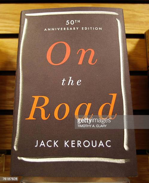 A hardback copy of the 50thanniversary edition of Jack Kerouac's On The Road sits on the shelves at Borders Books in New York 20 August 2007 Based on...