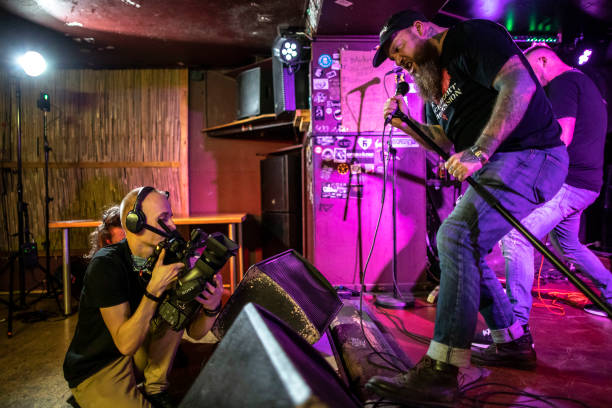 "CZE: Underground Rock Club ""Klub 007 - Strahov"" Hosts Beneficiary Live-Stream Show In Prague"