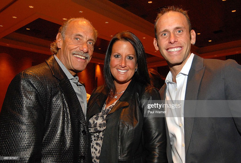 Hardcore Pawn castmembers (L-R) Les Gold and his children Ashley Gold Broad and Seth Gold attends Mittens for Detroit's 4th annual night of Giggles and Gloves at MGM Grand Hotel on January 25, 2014 in Detroit, Michigan.
