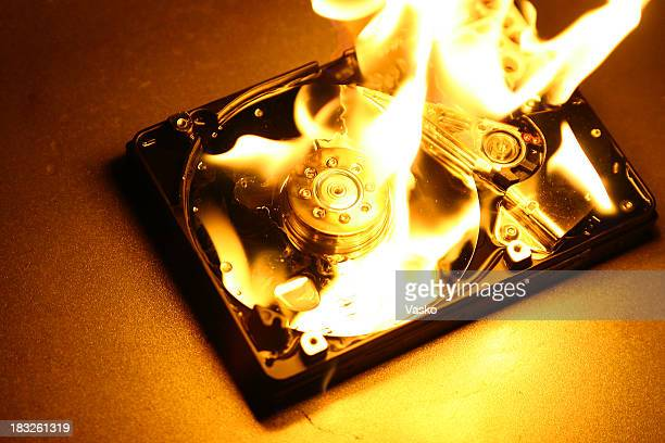 HardDrive on Fire 5