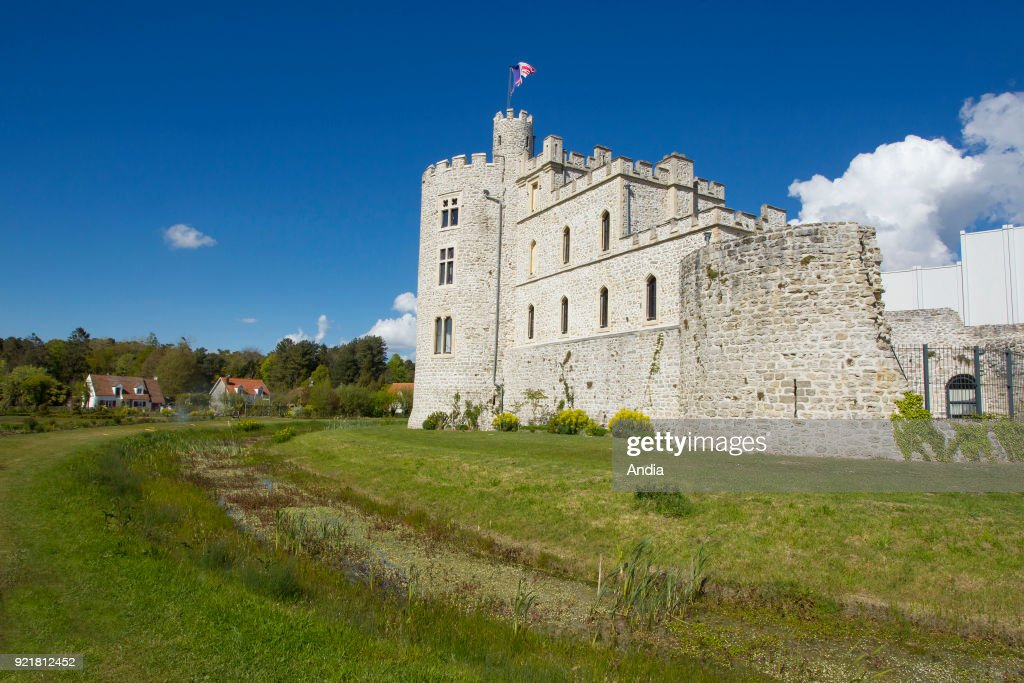 Hardelot Castle in Condette. : News Photo