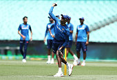 sydney australia hardik pandya fields during