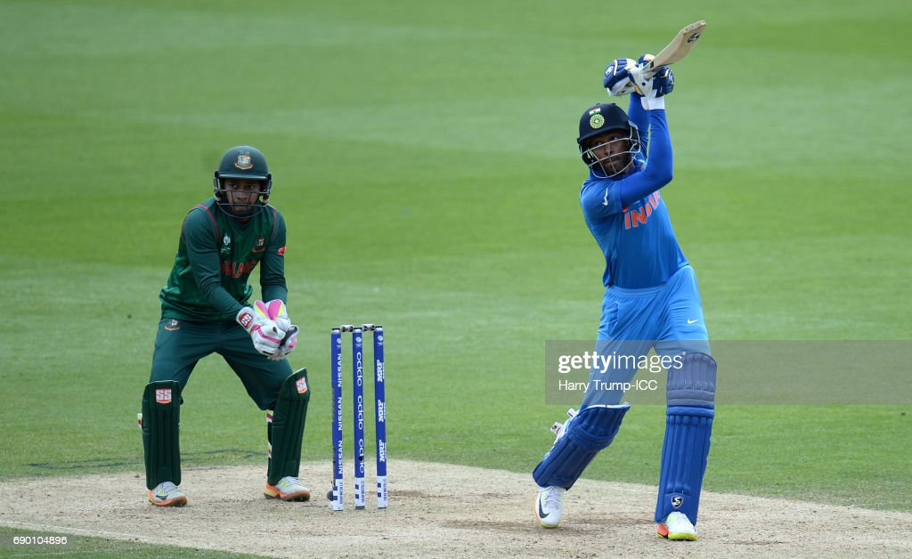 India v Bangladesh - ICC Champions Trophy Warm-up