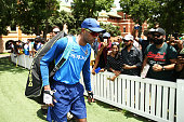 sydney australia hardik pandya walks to