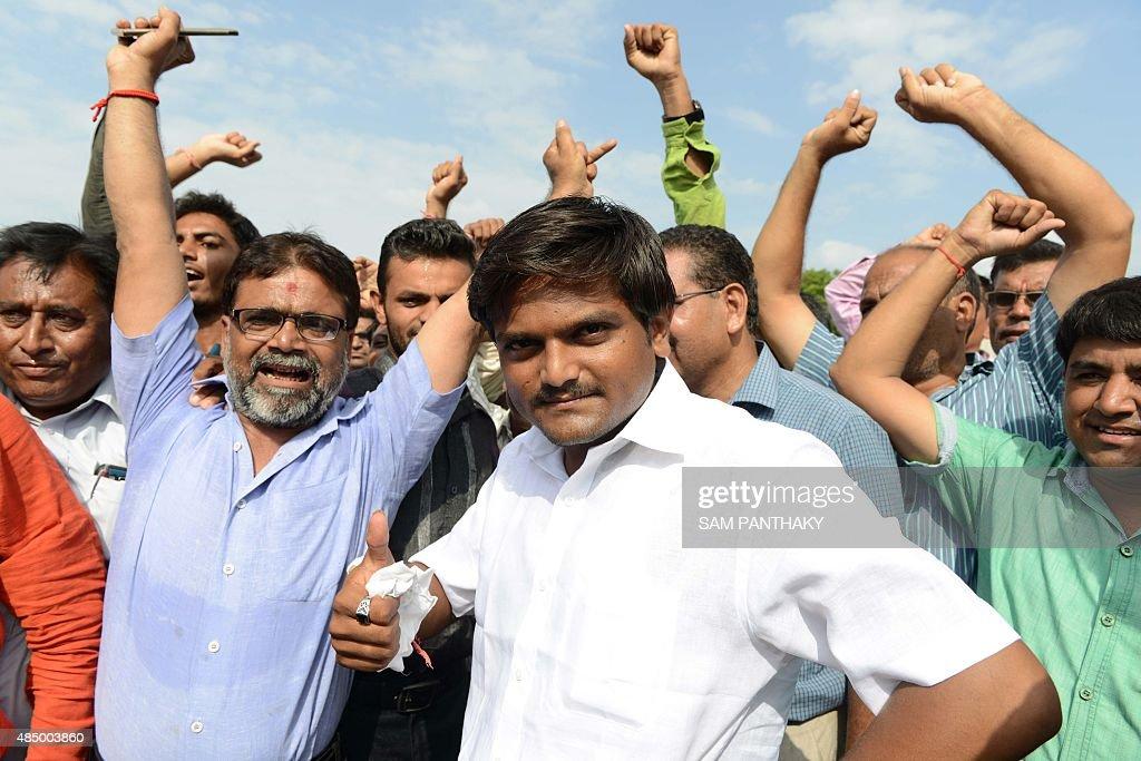 INDIA-SOCIETY-PROTEST-CASTE : News Photo