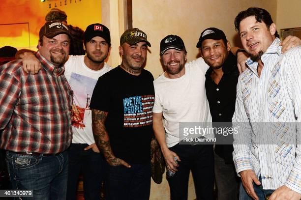 Hardin F3 Entertainment Singers/Songwriters Chuck Wicks Aaron Lewis Craig Morgan UFC Fighter Dan Henderson and Former MLB Player Ryan Klesko attend...