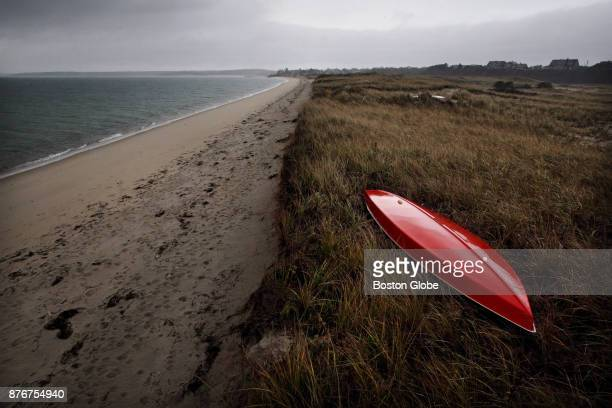 Harding Beach in Chatham MA is pictured on Nov 16 2017 Chathams eroding public beaches on Nantucket Sound could soon be revitalized after a $750000...