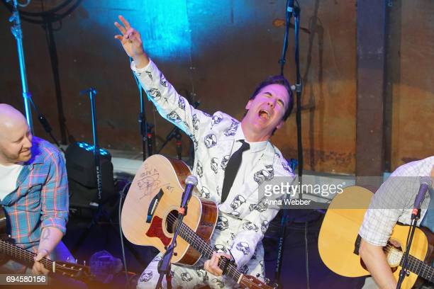 T Harding performs onstage for the ASCAP Writers Round at the HGTV Lodge during CMA Music Fest on June 10 2017 in Nashville Tennessee