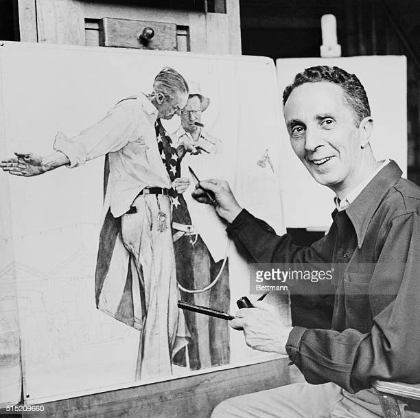 Hardly a magazine reader is unfamiliar with the name of Norman Rockwell and his engaging human interest paintings. It takes many hours of...