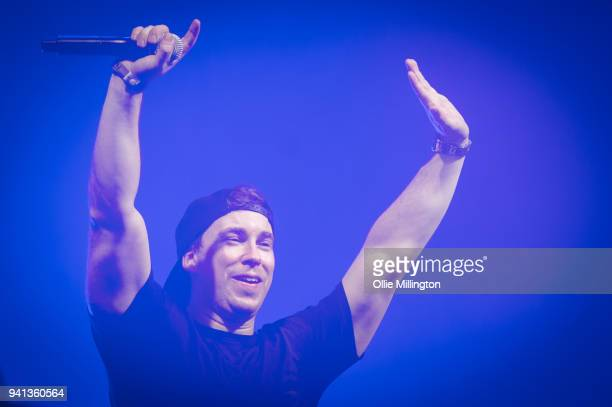 Hardwell performs at O2 Academy Brixton on April 1, 2018 in London, England.
