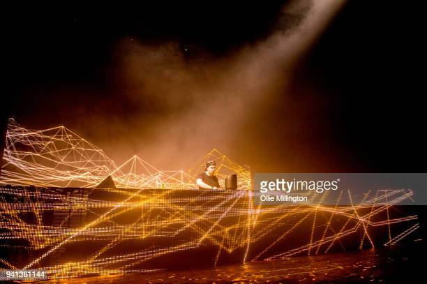 Hardwell performs at O2 Academy Brixton on April 1 2018 in London England