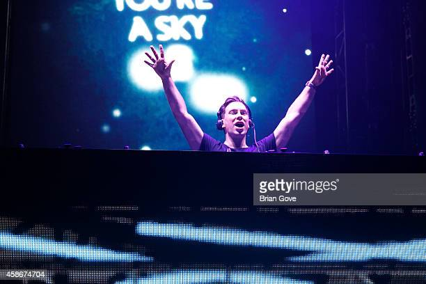 Hardwell performs in concert at The Forum on November 8 2014 in Inglewood California