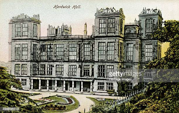 Hardwick Hall Derbyshire c1904 Hardwick Hall is regarded as one of the finest Elizabethan country houses in Britain It was designed by Robert...