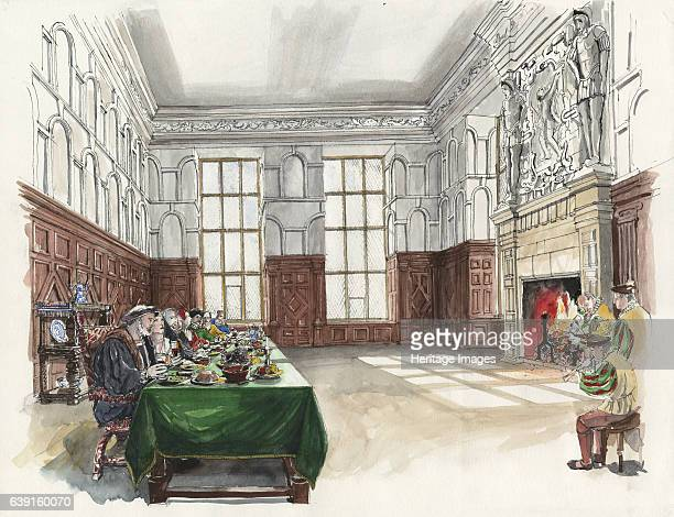 Hardwick Old Hall Great Chamber of Hardwick Old Hall Derbyshire An Elizabethan country house in England Built between 1590 and 1597 for the...