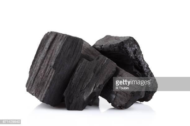 hardwood charcoal coal