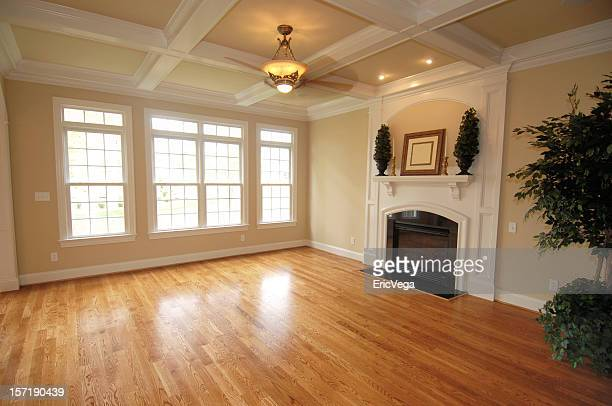 hardwood den - hardwood stock pictures, royalty-free photos & images