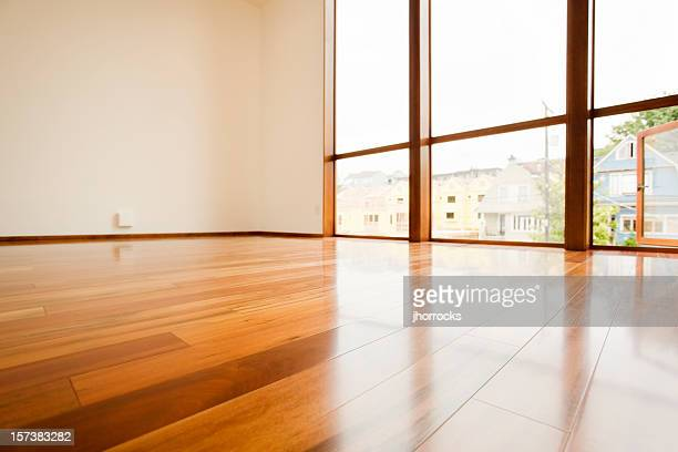 hardwood floor detail - low angle view stock pictures, royalty-free photos & images