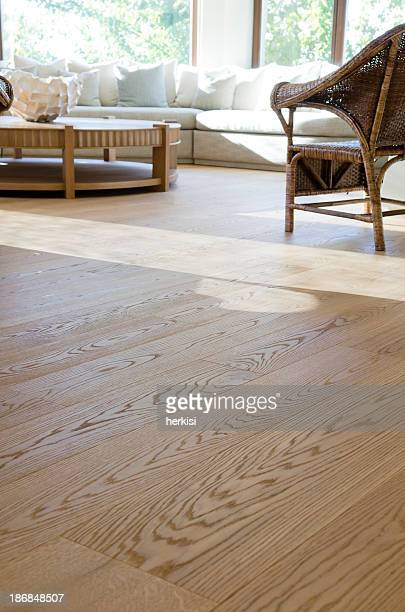 hardwood floor - flooring stock photos and pictures