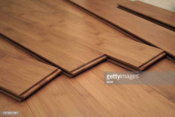 hardwood flooring project - hardwood stock pictures, royalty-free photos & images
