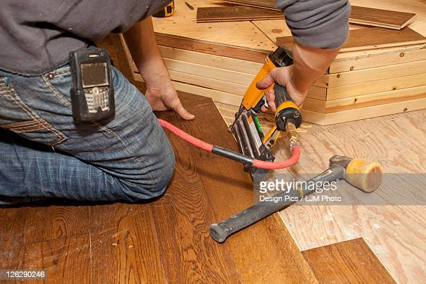 hardwood installation for home renovation