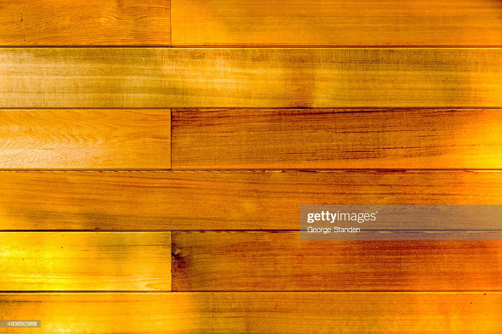 Hardwood Timber Cladding High Res Stock