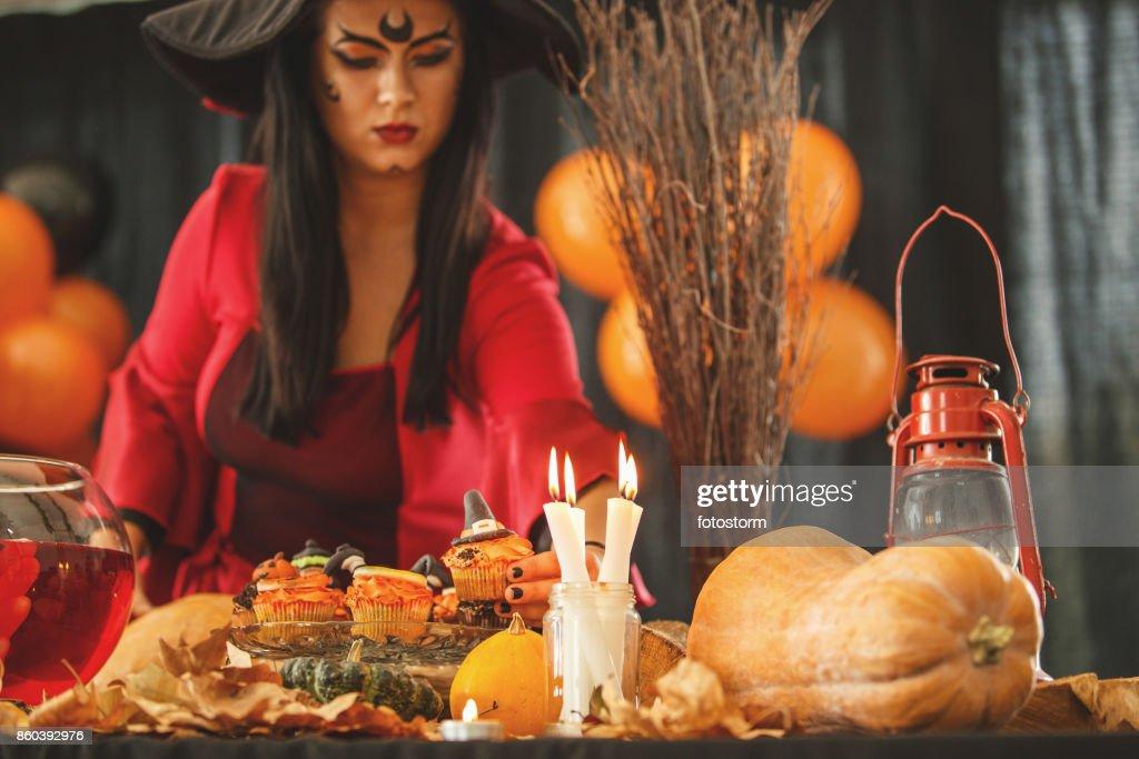 Hardworking hostess : Stock Photo