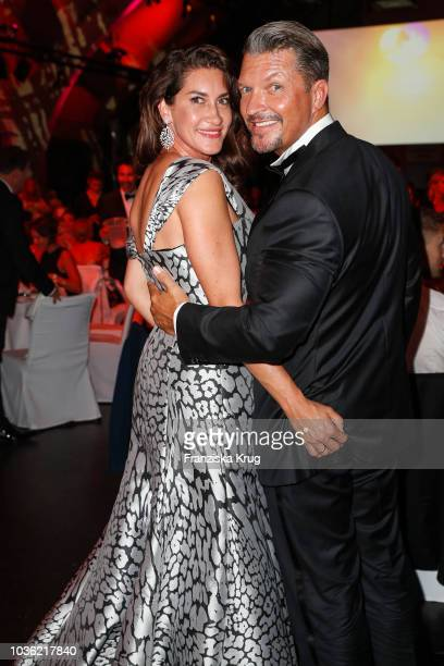 Hardy Krueger jr and Alice Krueger during the Dreamball 2018 at WECC Westhafen Event Convention Center on September 19 2018 in Berlin Germany