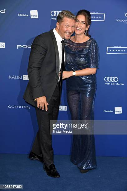 Hardy Krueger Jr and his wife Alice Krueger attend the Deutscher Schauspielpreis 2018 at Zoo Palast on September 14 2018 in Berlin Germany