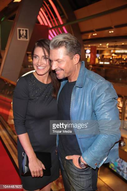Hardy Krueger jr and his wife Alice Krueger during the charity event 'Food for Good' to celebrate the first anniversary of Food Sky at Europa Passage...