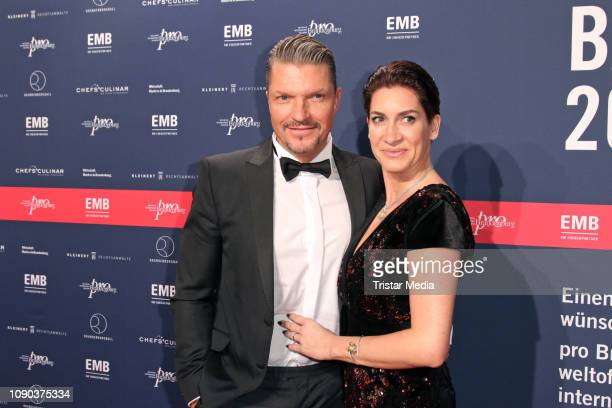 Hardy Krueger Jr and his wife Alice Krueger during the Brandenburgball on January 26 2019 in Potsdam Germany